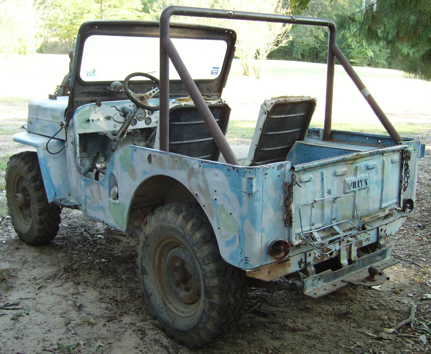 jeep willys cj3a restoration and replacement parts and